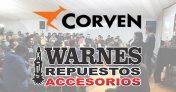 Corven y Warnes Repuestos brindaron dos exitosas charlas técnicas en Ferinoa 2017