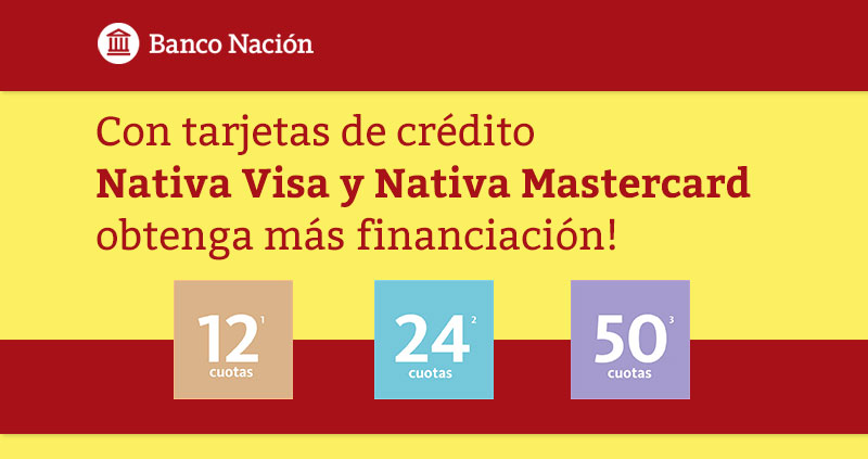 Cuotas Nativa Visa Mastercard