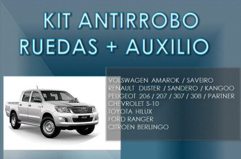 Kit Seguridad Auto - Tuercas Antirrobo