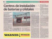 Centros de Instalación de Baterías y Cristales para el Automotor